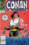 Conan the Barbarian #206 comic books - cover scans photos Conan the Barbarian #206 comic books - covers, picture gallery