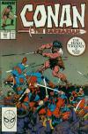 Conan the Barbarian #207 comic books - cover scans photos Conan the Barbarian #207 comic books - covers, picture gallery