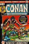 Conan the Barbarian #21 comic books - cover scans photos Conan the Barbarian #21 comic books - covers, picture gallery
