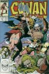 Conan the Barbarian #211 comic books - cover scans photos Conan the Barbarian #211 comic books - covers, picture gallery