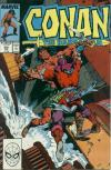Conan the Barbarian #215 comic books - cover scans photos Conan the Barbarian #215 comic books - covers, picture gallery