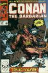 Conan the Barbarian #232 comic books - cover scans photos Conan the Barbarian #232 comic books - covers, picture gallery