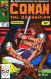 Conan the Barbarian #233 comic books - cover scans photos Conan the Barbarian #233 comic books - covers, picture gallery