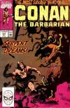 Conan the Barbarian #237 comic books - cover scans photos Conan the Barbarian #237 comic books - covers, picture gallery