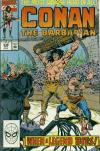 Conan the Barbarian #238 comic books - cover scans photos Conan the Barbarian #238 comic books - covers, picture gallery
