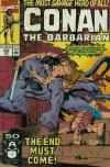 Conan the Barbarian #240 comic books - cover scans photos Conan the Barbarian #240 comic books - covers, picture gallery