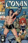 Conan the Barbarian #248 comic books - cover scans photos Conan the Barbarian #248 comic books - covers, picture gallery