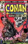 Conan the Barbarian #62 Comic Books - Covers, Scans, Photos  in Conan the Barbarian Comic Books - Covers, Scans, Gallery