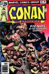 Conan the Barbarian #64 comic books - cover scans photos Conan the Barbarian #64 comic books - covers, picture gallery