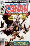 Conan the Barbarian #75 comic books - cover scans photos Conan the Barbarian #75 comic books - covers, picture gallery