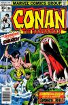 Conan the Barbarian #86 comic books - cover scans photos Conan the Barbarian #86 comic books - covers, picture gallery