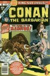 Conan the Barbarian #4 comic books - cover scans photos Conan the Barbarian #4 comic books - covers, picture gallery