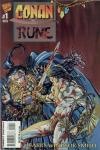 Conan vs. Rune Comic Books. Conan vs. Rune Comics.