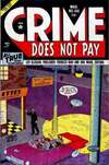 Crime Does Not Pay #108 comic books - cover scans photos Crime Does Not Pay #108 comic books - covers, picture gallery
