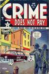 Crime Does Not Pay #111 comic books - cover scans photos Crime Does Not Pay #111 comic books - covers, picture gallery