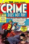 Crime Does Not Pay #136 comic books - cover scans photos Crime Does Not Pay #136 comic books - covers, picture gallery