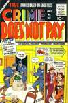 Crime Does Not Pay #147 comic books - cover scans photos Crime Does Not Pay #147 comic books - covers, picture gallery