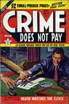 Crime Does Not Pay #91 comic books - cover scans photos Crime Does Not Pay #91 comic books - covers, picture gallery