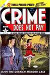 Crime Does Not Pay #93 comic books for sale