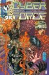 Cyberforce #28 comic books - cover scans photos Cyberforce #28 comic books - covers, picture gallery