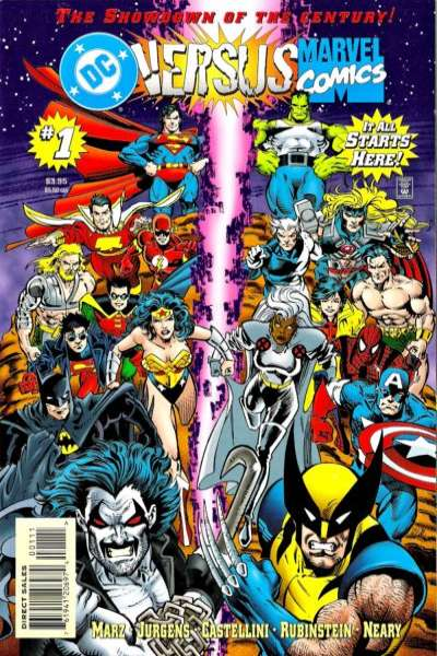 DC versus Marvel comic books