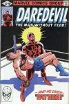 Daredevil #164 comic books - cover scans photos Daredevil #164 comic books - covers, picture gallery