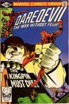 Daredevil #170 comic books - cover scans photos Daredevil #170 comic books - covers, picture gallery