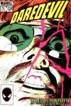 Daredevil #228 comic books - cover scans photos Daredevil #228 comic books - covers, picture gallery