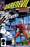 Daredevil #244 comic books - cover scans photos Daredevil #244 comic books - covers, picture gallery