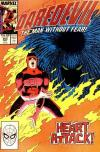 Daredevil #254 comic books - cover scans photos Daredevil #254 comic books - covers, picture gallery
