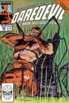 Daredevil #262 comic books - cover scans photos Daredevil #262 comic books - covers, picture gallery