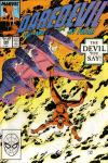 Daredevil #266 comic books - cover scans photos Daredevil #266 comic books - covers, picture gallery