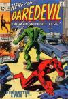 Daredevil #50 Comic Books - Covers, Scans, Photos  in Daredevil Comic Books - Covers, Scans, Gallery
