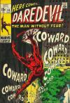 Daredevil #55 Comic Books - Covers, Scans, Photos  in Daredevil Comic Books - Covers, Scans, Gallery