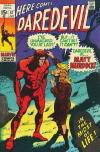 Daredevil #57 comic books - cover scans photos Daredevil #57 comic books - covers, picture gallery