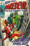 Daredevil #58 Comic Books - Covers, Scans, Photos  in Daredevil Comic Books - Covers, Scans, Gallery