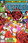 Dazzler #4 comic books - cover scans photos Dazzler #4 comic books - covers, picture gallery