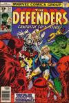 Defenders #50 comic books for sale