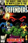 Defenders #87 comic books for sale
