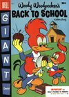 Dell Giant Comics: Woody Woodpecker Back to School #4 comic books - cover scans photos Dell Giant Comics: Woody Woodpecker Back to School #4 comic books - covers, picture gallery