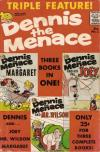 Dennis the Menace Triple Feature #1 comic books for sale