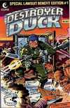 Destroyer Duck comic books
