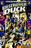 Destroyer Duck #4 comic books - cover scans photos Destroyer Duck #4 comic books - covers, picture gallery