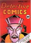 Detective Comics #1 Comic Books - Covers, Scans, Photos  in Detective Comics Comic Books - Covers, Scans, Gallery