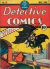 Detective Comics #27 Comic Books - Covers, Scans, Photos  in Detective Comics Comic Books - Covers, Scans, Gallery