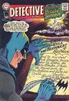 Detective Comics #366 comic books - cover scans photos Detective Comics #366 comic books - covers, picture gallery