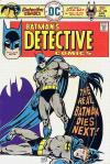 Detective Comics #458 comic books - cover scans photos Detective Comics #458 comic books - covers, picture gallery