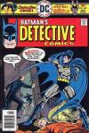 Detective Comics #459 comic books - cover scans photos Detective Comics #459 comic books - covers, picture gallery