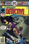 Detective Comics #460 comic books - cover scans photos Detective Comics #460 comic books - covers, picture gallery