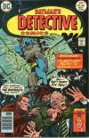 Detective Comics #465 comic books - cover scans photos Detective Comics #465 comic books - covers, picture gallery
